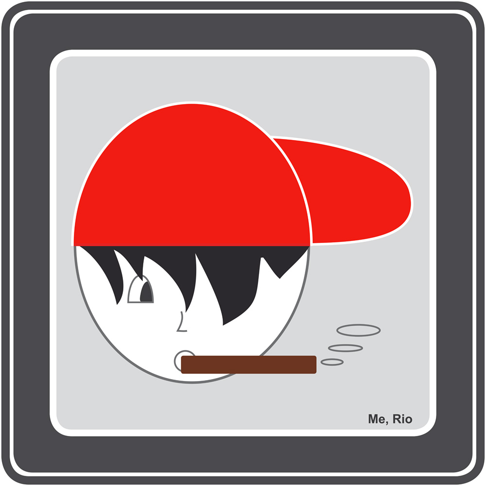 "Piktogramm ""Red Cap"""